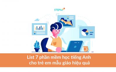 List 7 phần mềm học tiếng anh cho trẻ em mẫu giáo